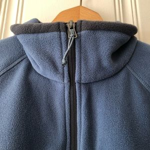 Columbia Jackets & Coats - Columbia Steel Blue Fleece Full Zip Jacket Size L